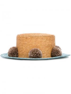 Шляпа Jupiter  for 711 Eshvi. Цвет: коричневый