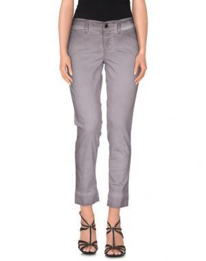 Джинсовые брюки S.O.S by ORZA STUDIO. Цвет: серый