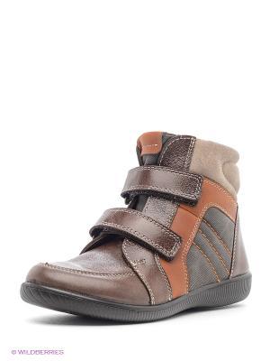 Ботинки San Marko. Цвет: коричневый