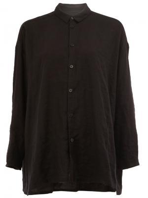 Рубашка  Draughtsman Toogood. Цвет: чёрный