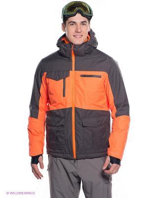 Куртка BRUNOTTI. Цвет: оранжевый, антрацитовый