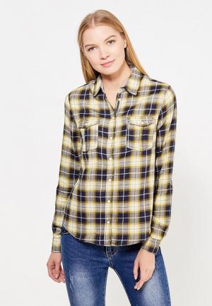 Рубашка Piazza Italia. Цвет: желтый