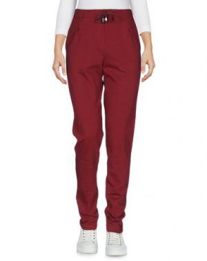 Повседневные брюки ED 2.0. Цвет: красно-коричневый