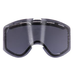 Линза для маски  Warlock Lens Black Smoke Ashbury. Цвет: черный