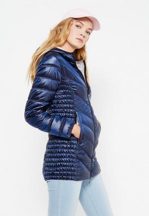 Куртка утепленная Wega. Цвет: синий