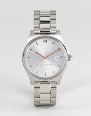 Marc Jacobs Серебристые часы MJ3583 Henry. Цвет: серебряный