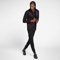 Мужская худи с молнией во всю длину  Sportswear Tech Fleece Windrunner Nike. Цвет: пурпурный