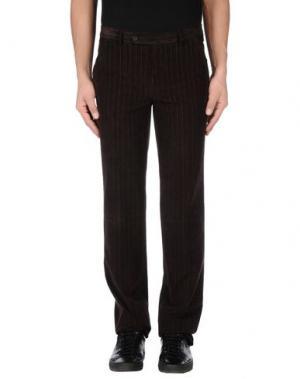 Повседневные брюки NEW YORK INDUSTRIE. Цвет: темно-коричневый