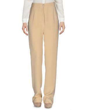 Повседневные брюки MARIO BORSATO. Цвет: бежевый
