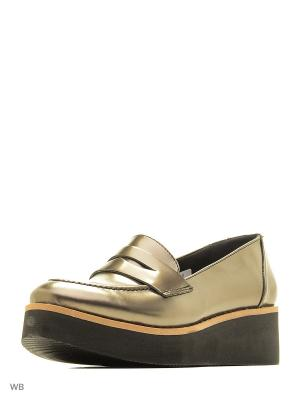 Ботинки Dimenni. Цвет: бронзовый