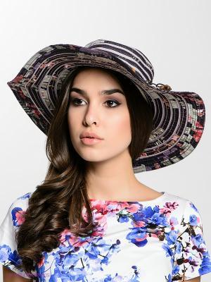 Шляпа FOMAS. Цвет: серый, бледно-розовый