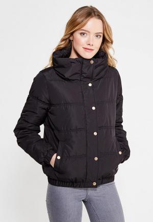 Куртка утепленная Tom Tailor Denim. Цвет: черный
