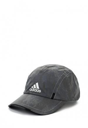 Бейсболка adidas Performance. Цвет: серый