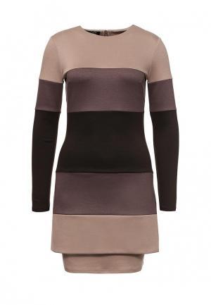 Платье Imagefor. Цвет: коричневый