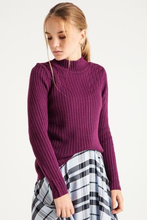 Свитер BGN. Цвет: purple, фиолетовый