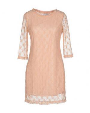 Короткое платье ANONYME DESIGNERS. Цвет: светло-розовый