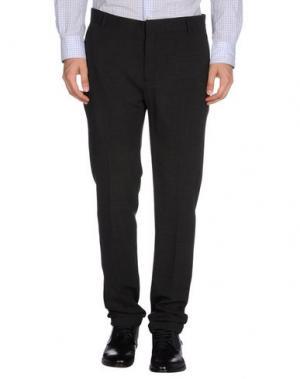 Повседневные брюки DANIELE ALESSANDRINI. Цвет: стальной серый