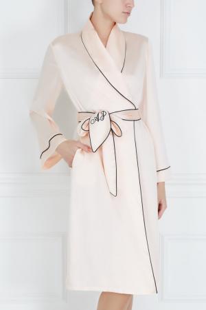 Халат розовый Classic Dressing Gown Agent Provocateur. Цвет: розовый