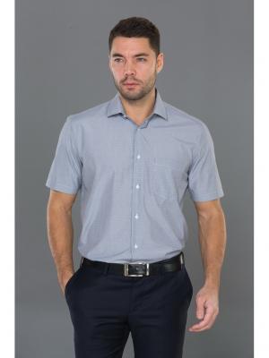 Рубашка John Jeniford. Цвет: серый