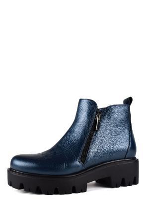 Ботинки BERG. Цвет: лазурный