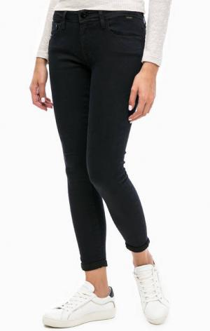 Укороченны брюки со стандартной посадкой Mavi. Цвет: синий