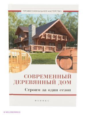 Современный деревянный дом. Строим за один сезон Феникс. Цвет: белый, бежевый