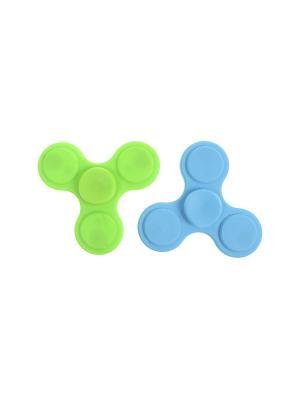 Комплект (Спиннер - 2 шт.) Happy Charms Family. Цвет: голубой, зеленый