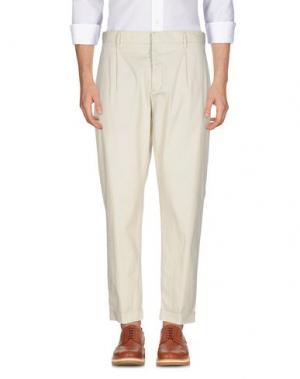 Повседневные брюки J.W. BRINE. Цвет: слоновая кость
