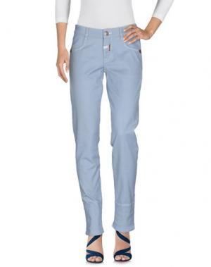 Джинсовые брюки MARITHÉ + FRANÇOIS GIRBAUD. Цвет: небесно-голубой