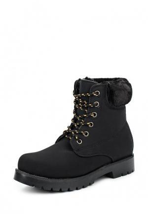 Ботинки PTPT. Цвет: черный