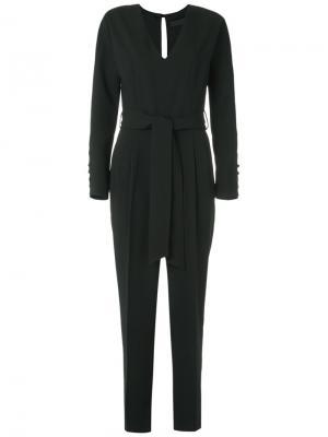 Long sleeves jumpsuit Giuliana Romanno. Цвет: none