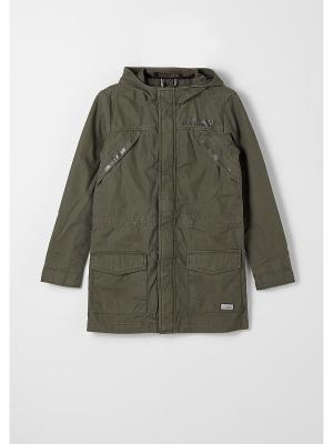 Куртка S.OLIVER. Цвет: хаки