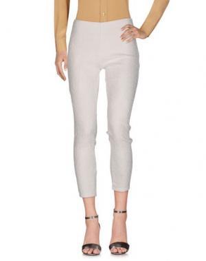 Повседневные брюки ANONYME DESIGNERS. Цвет: белый