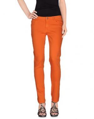 Джинсовые брюки ATOS LOMBARDINI. Цвет: оранжевый