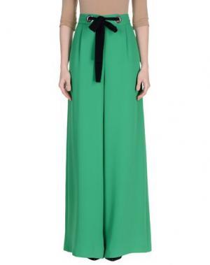 Повседневные брюки ANNIE P.. Цвет: зеленый