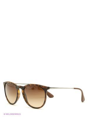 Очки солнцезащитные ERIKA Ray Ban. Цвет: коричневый