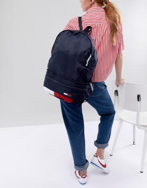 Tommy Jeans Гибридная сумка (сумка-кошелек на пояс/рюкзак). Цвет: мульти