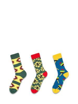 Носки Sammy Icon. Цвет: синий, бордовый, желтый, зеленый, красный