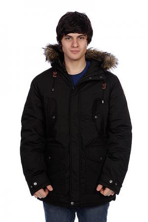 Куртка парка  Oakhill Black Element. Цвет: черный