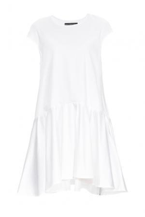 Платье 164342 Anna Dubovitskaya. Цвет: белый