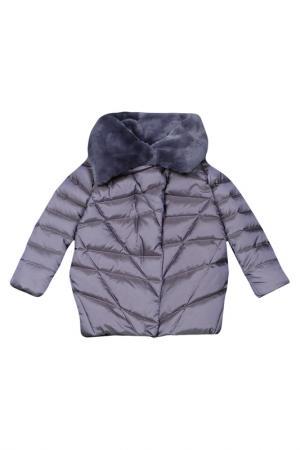 Пальто Arctic Goose. Цвет: серый