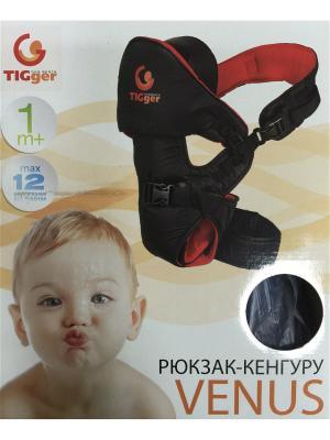 Рюкзак для переноски детей Venus (c шапочкой) TIGger. Цвет: синий
