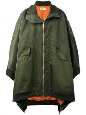 Пальто-кейп MA1 Ambush. Цвет: зелёный