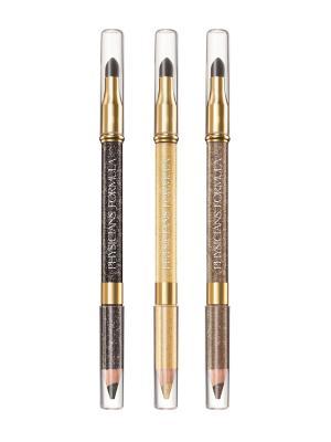 Карандаши для век с аппликатором набор Shimmer Strips Pencil+Smudger Trio - Glam Nude Eyes 1.8 г Physicians Formula. Цвет: золотистый, коричневый, темно-коричневый