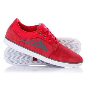 Кеды кроссовки низкие  Howard Suede Red Lakai. Цвет: красный