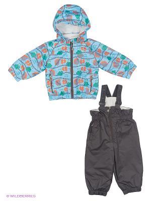 Комплект одежды REIKE. Цвет: голубой