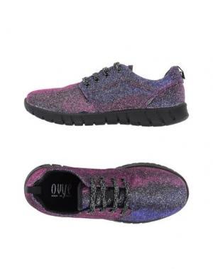 Низкие кеды и кроссовки OVYE' BY CRISTINA LUCCHI. Цвет: фиолетовый