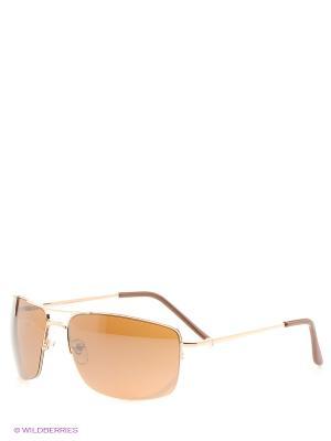 Солнцезащитные очки Vittorio Richi. Цвет: золотистый
