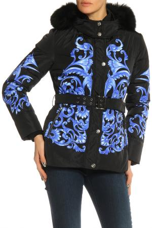Куртка Angelo Marani. Цвет: черный, синий
