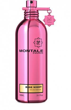 Парфюмерная вода Rose Night Montale. Цвет: бесцветный